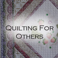 Quilting For Others
